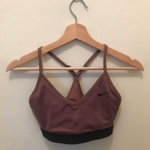Nike sport bra. Light support compression bra.